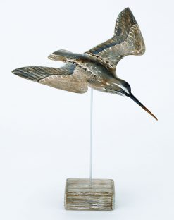 D229 Archipelago Snipe Flying Bird Wooden Sculpture | Avant Garden