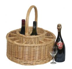 DB011 Willow Direct Party Wine Basket 12 Wine Glasses 1 Avant Garden Guernsey