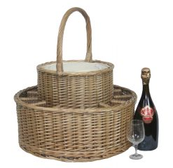 DB012 Willow Direct Party Champagne Basket 1 Avant Garden Guernsey