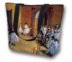 Tote Bag large Ballet by Degas