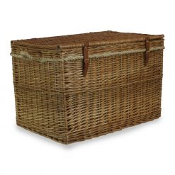 EH094 Aberdeen Steamed Willow Storage Hamper 1 Avant Garden Guernsey