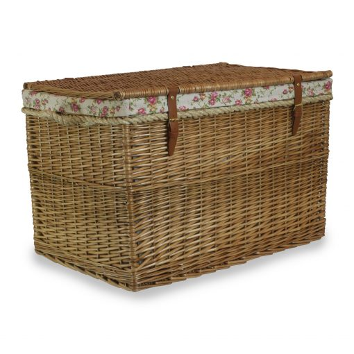 EH094R Willow Direct Elgin Steamed Willow Storage 29inch  Hamper 1 Avant Garden Guernsey