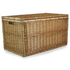 EH097 Dundee Steamed Willow 36inch Ex Large Linen Chest 1 Avant Garden Guernsey