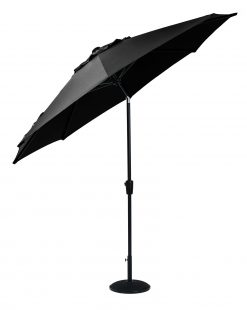 Cafe Continental Parasol Carbon 3m