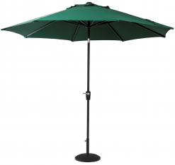 Cafe Continental Parasol Green 2.2m