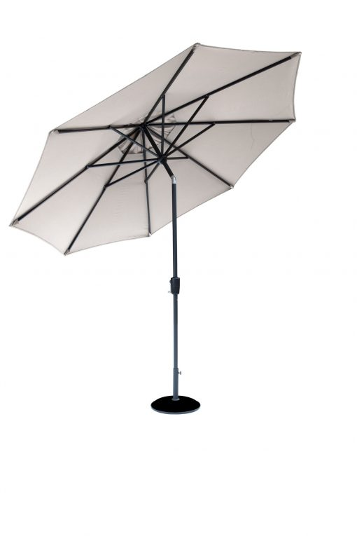 Cafe Continental Parasol Mouse Grey 3m 1