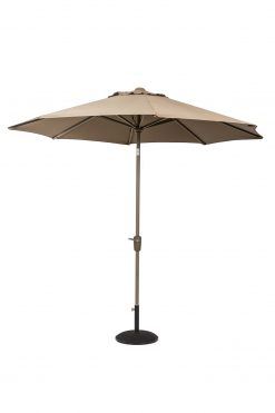 Classic Continental 2.2m Taupe Parasol