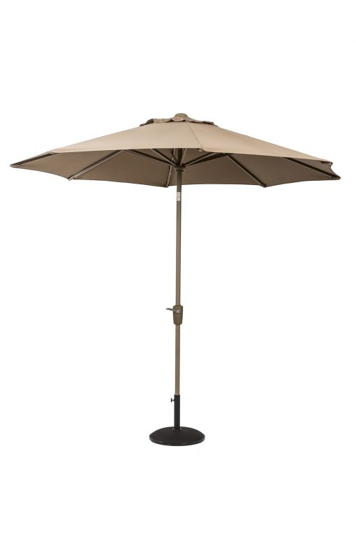 Cafe Continental Parasol Taupe 2