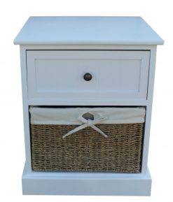 F001 Willow Direct Single Drawer Bedside Cabinet 1 Avant Garden Guernsey