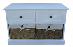 F002 Tarbert Two Drawer Bench 1 Avant Garden Guernsey