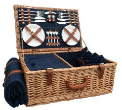 FH063 Lincoln Picnic Hamper Four Person 1 Avant Garden Guernsey