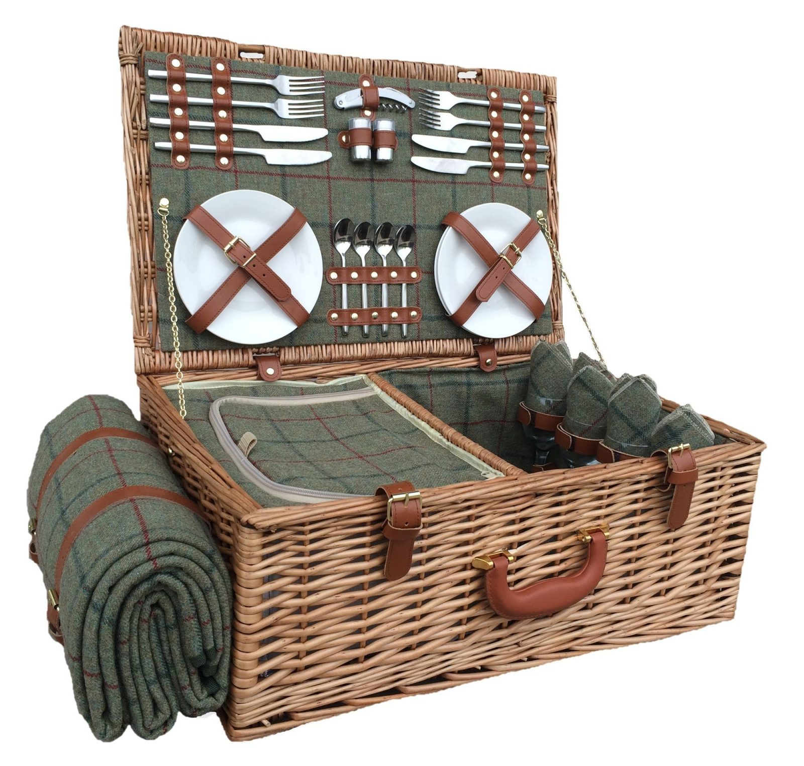 FH069 Wimborne Picnic Hamper Four Person 1 | Avant Garden