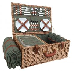 FH069 Willow Direct Picnic Hamper Four Person 1 Avant Garden Guernsey