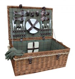 FH082 Willow Direct Picnic Hamper Four Person 1 Avant Garden Guernsey