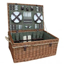 FH083 Chester Picnic Hamper Six Person Deluxe 1 Avant Garden Guernsey