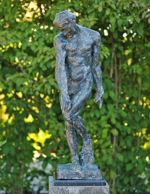 FIME 2 Fine Cast Bronze Sculpture Adam From Rodin 88cm 2 Avant Garden