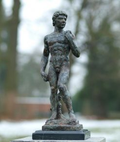 Bronze Sculpture David (Michelangelo) 39cm