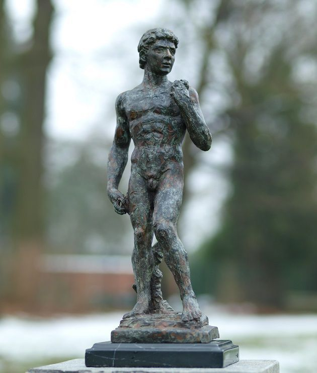 Bronze Sculpture David (Michelangelo)