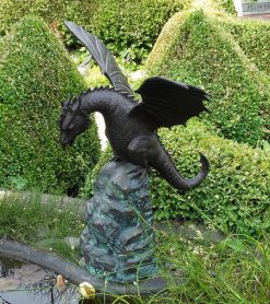 Bronze Sculpture Fountain Dragon