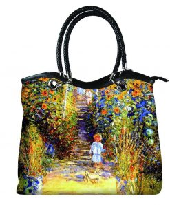 Vogue Hand Bag Garden at Vetheuil by Monet