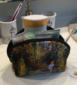 Make up Bag Garden at Vetheuil by Monet