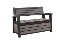 Avant Garden Monks Bench Storage 260L Two Seater