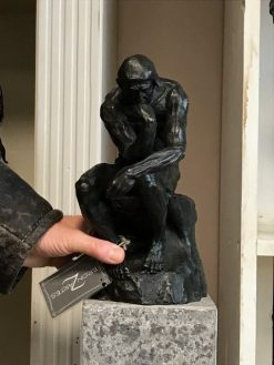 Fine Cast Bronze Sculpture The Thinker by Rodin 28cm