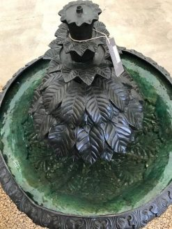 Fine Bronze Sculpture Fountain Modern Water Feature