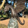 Dragon Bronze Fountain Water Feature Sculpture The Guet Gsy 1 | Avant Garden
