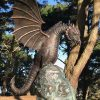 Dragon Bronze Fountain Water Feature Sculpture Le Guet Gsy 1 | Avant Garden