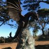 Dragon Bronze Sculpture Fountain Water Feature Le Guet 3 | Avant Garden