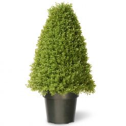 Buxus Boxwood Topiary Artificial Tree - 30""