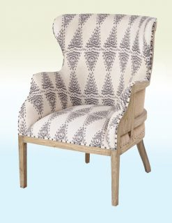 Libra Company Homestead Mindi Diamond Pattern Occasional Chairs - Set of Two