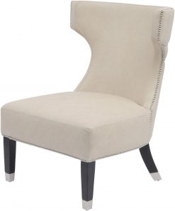 Libra Company Halcyon Leather Cappuccino Occasional Chair