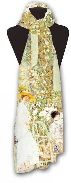 Lillies by Frieseke Scarf
