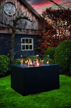 Happy Cocooning Cocoon Lounge & Dining Square Gas Fire Pit