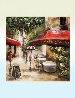 MEAR 21 3D Metal Wall Art Cafe Paris Sculpture 1 Avant Garden Guernsey