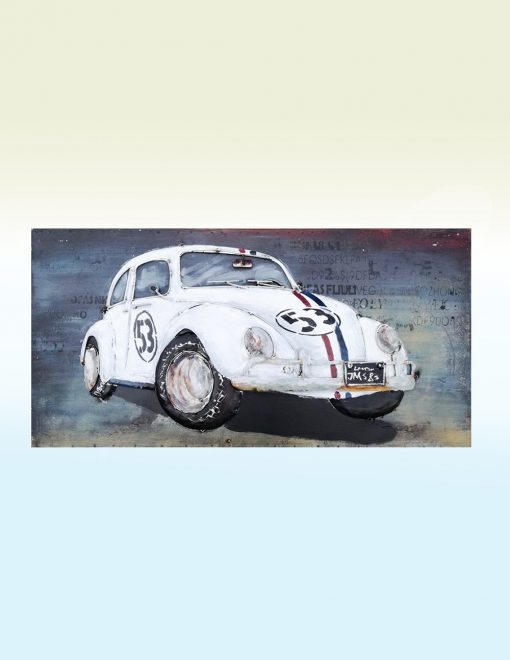 MEAR 47 3D Metal Wall Art Herbie Sculpture 1 Avant Garden Guernsey