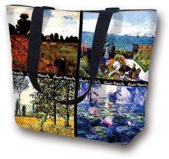 Tote Bag Large Monet's Work by Monet