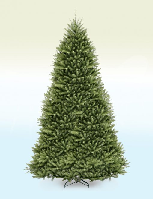Basel Slim Frosted Fir Artificial Christmas Tree- 10ft 2