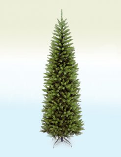 Vienna Fir Pencil Slim Artificial Christmas Tree - 7.5ft