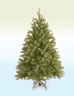 Rhine Spruce Pine Artificial Christmas Tree - 4ft