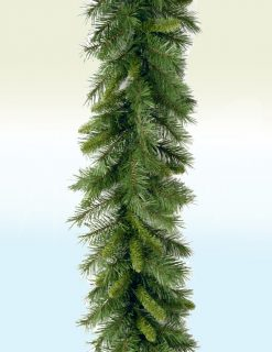 Alsace Pine Christmas Garland - 9ft
