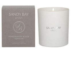 Sandy Bay London Candle 30cl Pomegranate Rouge