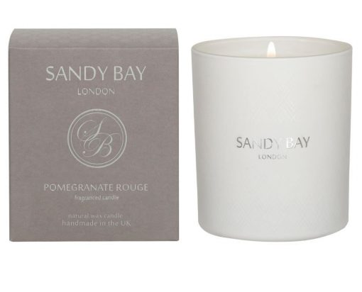 SB1001 Sandy Bay London Pomegranate Rouge Tumbler Candle 30cl