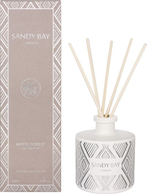 SB1050 Sandy Bay London White Forest Reed Diffuser 200ml