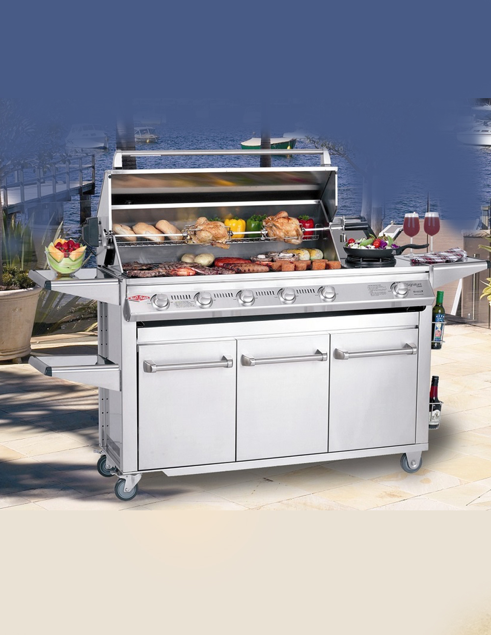BeefEater Barbecue Signature SL4000 Situ 2 | Avant Garden Guernsey