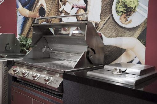Beefeater Signature 3000E Stainless Steel In Artisan Hood Open BS19942 1 | Avant Garden