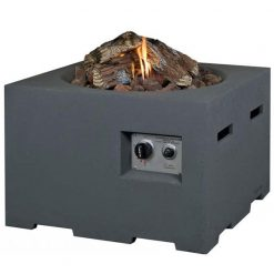 Cocoon Large Square Gas Fire Pit