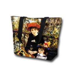 Tote Bag Large Terrace by Renoir